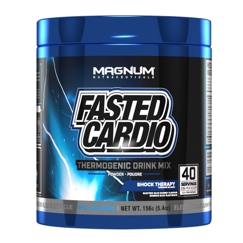 Magnum Fasted Cardio Thermogenic Drink Mix 40 Servings | Fat Burners | Magnum