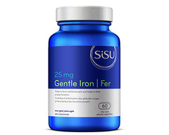 Sisu Gentle Iron 25mg 60 Vegetarian tablets