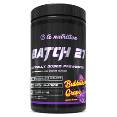 TC Nutrition Batch 27 Pre-workout