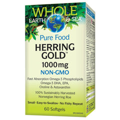 Whole Earth & Sea Herring Gold 1000mg - Body Energy Club