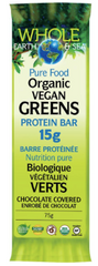 Whole Earth & Sea Vegan Greens Protein Bars | vegan protein bars | Natural Factors