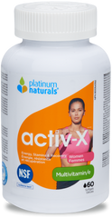 Platinum Naturals Activ-X Women Softgels | Women's Multivitamins | Platinum