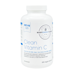Body Energy Club Clean Vitamin C 180 Veggie Capsules