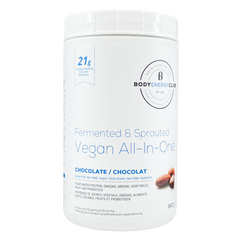 Body Energy Club Vegan Fermented & Sprouted All-In-One Protein