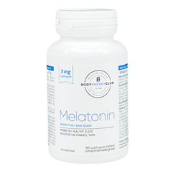 Body Energy Club Melatonin 3mg 90 Tablets