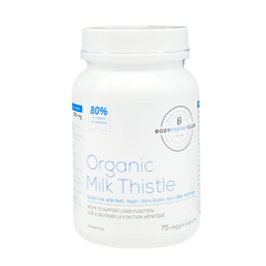 Body Energy Club Organic Milk Thistle 250mg