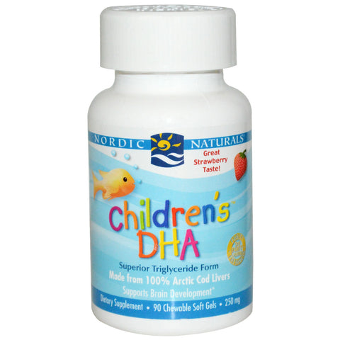 Nordic Naturals Children's DHA - 90 Softgels