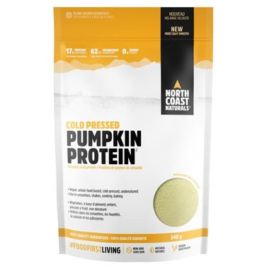 North Coast Naturals Cold Naturals | Pressed Pumpkin Protein | 340g