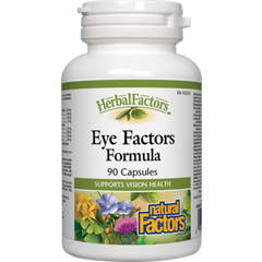 Natural Factors Eye Factors Capsules | Eye & Vision Care | Natural Factors