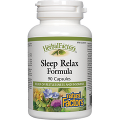 Natural Factors HerbalFactors Sleep Relax Formula