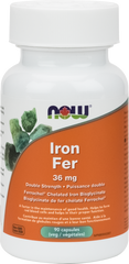 NOW Iron Bisglycinate 36mg