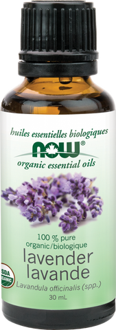 NOW Organic Lavender Essential Oil