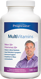 Progressive Over 50 Mens Multi | Men's Multivitamins | Progressive