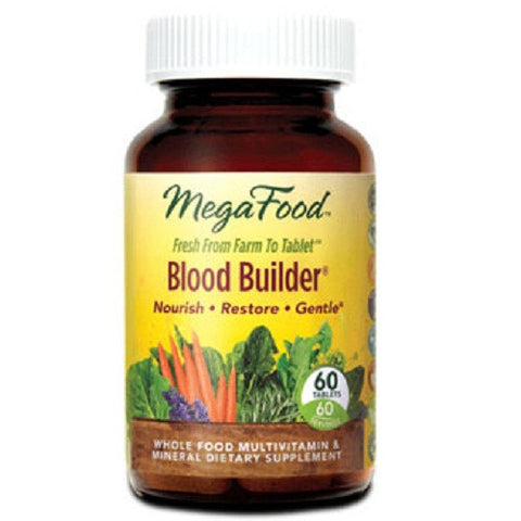 Mega Food Blood Builder Tablets 60 tablets