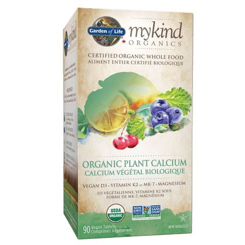 Garden Of Life Organic Plant Calcium 90 Tab- Body Energy Club