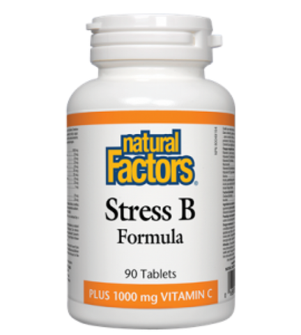 Natural Factors Stress B Formula 1000mg | Vitamin B | Natural Factors