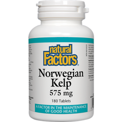 Natural Factors Norwegian Kelp 575mg | Kelp | Natural Factors