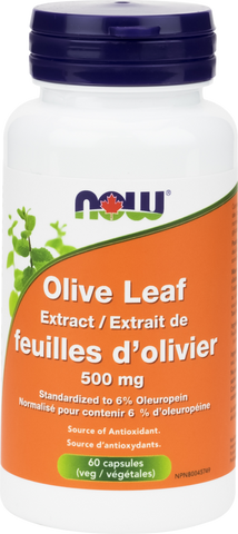 NOW Olive Leaf Extract 500mg