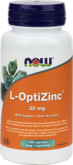 NOW L-OptiZinc Monomethionine 30mg