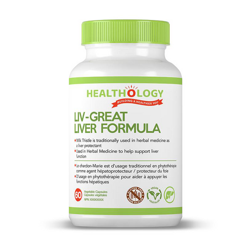 Healthology | LIV-GREAT | 60 capsules