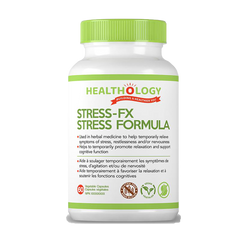 Healthology | STRESS-FX | 60 Vegetable Capsules