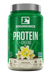 Ergogenics Nutrition Plant Protein + Greens - Body Energy Club