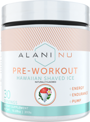 Alani Nu | Pre-Workout 30 Servings | Hawaiian Shaved Ice