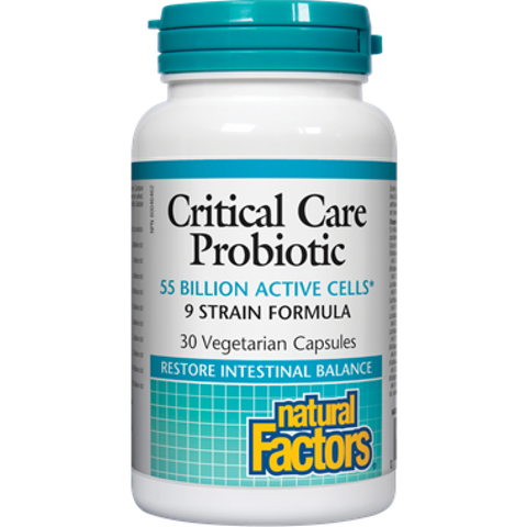 Natural Factors Critical Care Probiotic 55 Billion Active Cells | Probiotics | Natural Factors