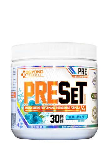 Beyond Yourself PRESet 278g | Pre-Workout | Beyond Yourself