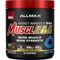 Allmax | MUSCLEAA | 30 Servings | Blue Shark | body Energy Club