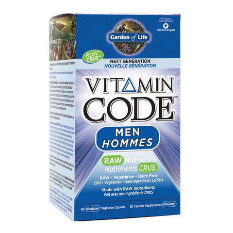 Garden Of Life Vitamin Code Next Generation Men