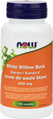 NOW White WIllow 400mg - Body Energy Club