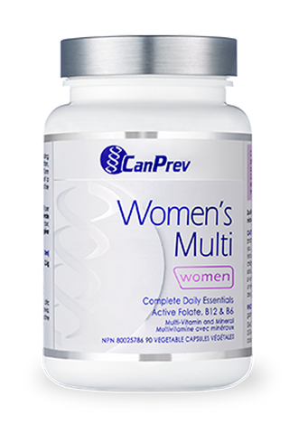 CanPrev Women's Multi 90 vcaps - Body Energy Club