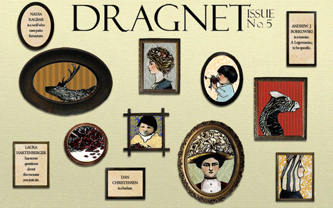 Dragnet Issue Five cover