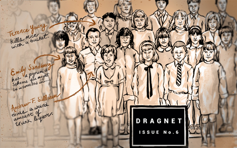 Dragnet Issue Six cover