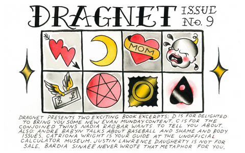 Dragnet Issue Nine cover