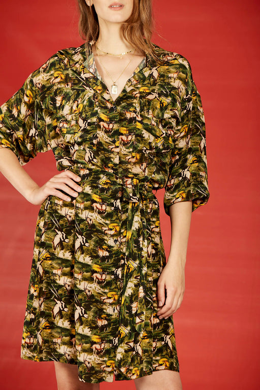 ORIX SAFARI DRESS
