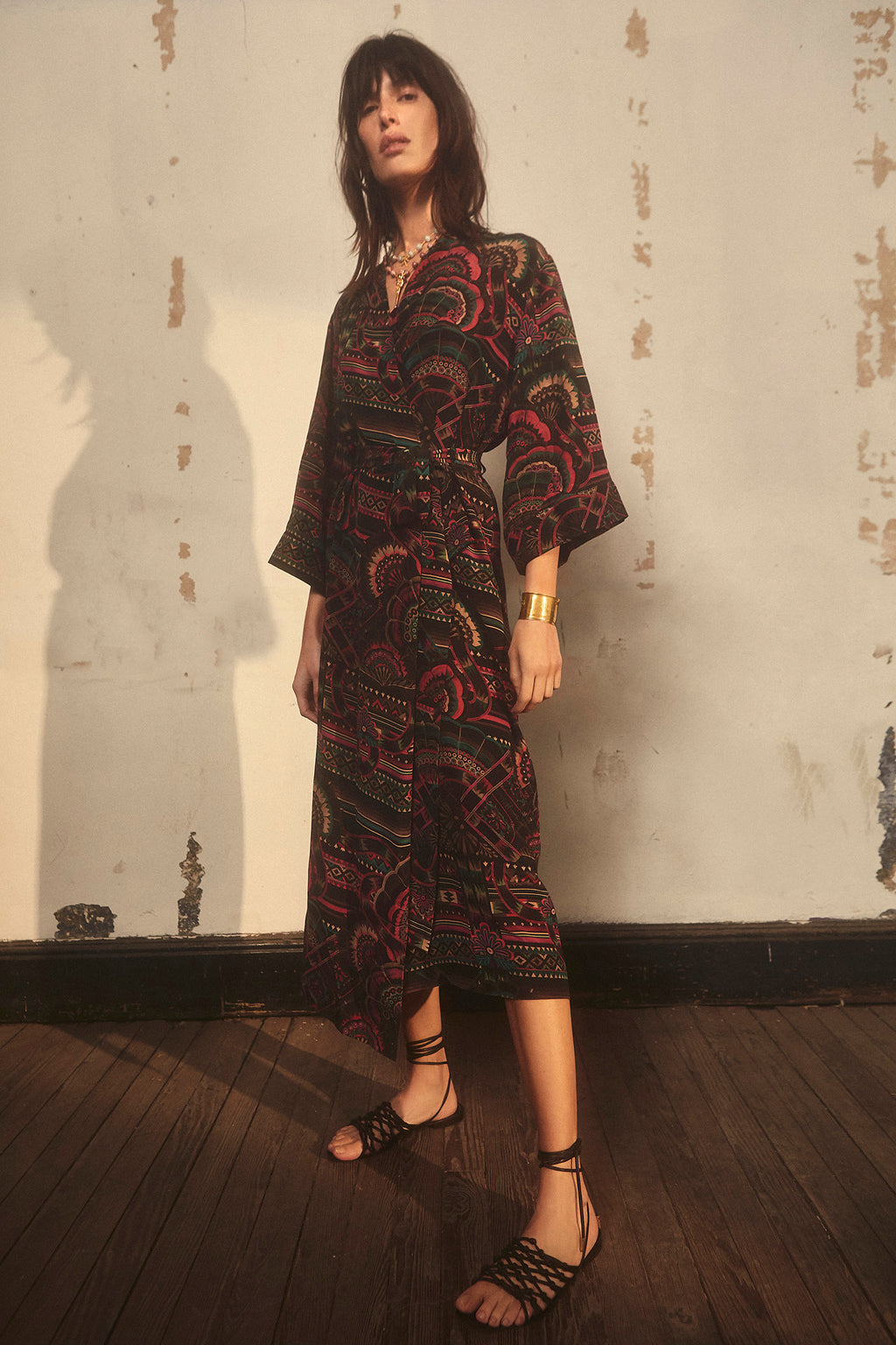 Illari Long Robe