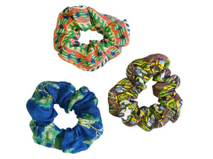 Kinyei Scrunchie Set