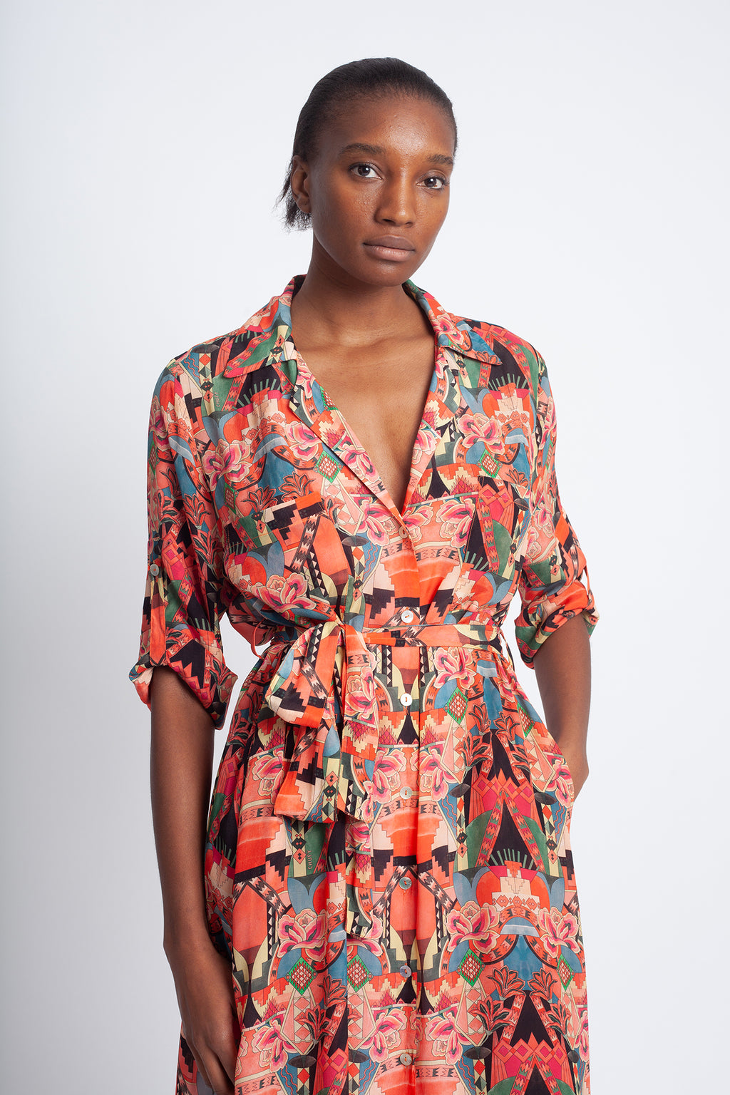 Re Wayta Shirt Dress