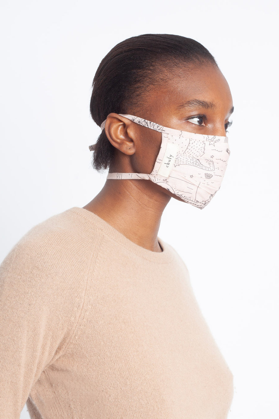 Pleated Willka Face Mask