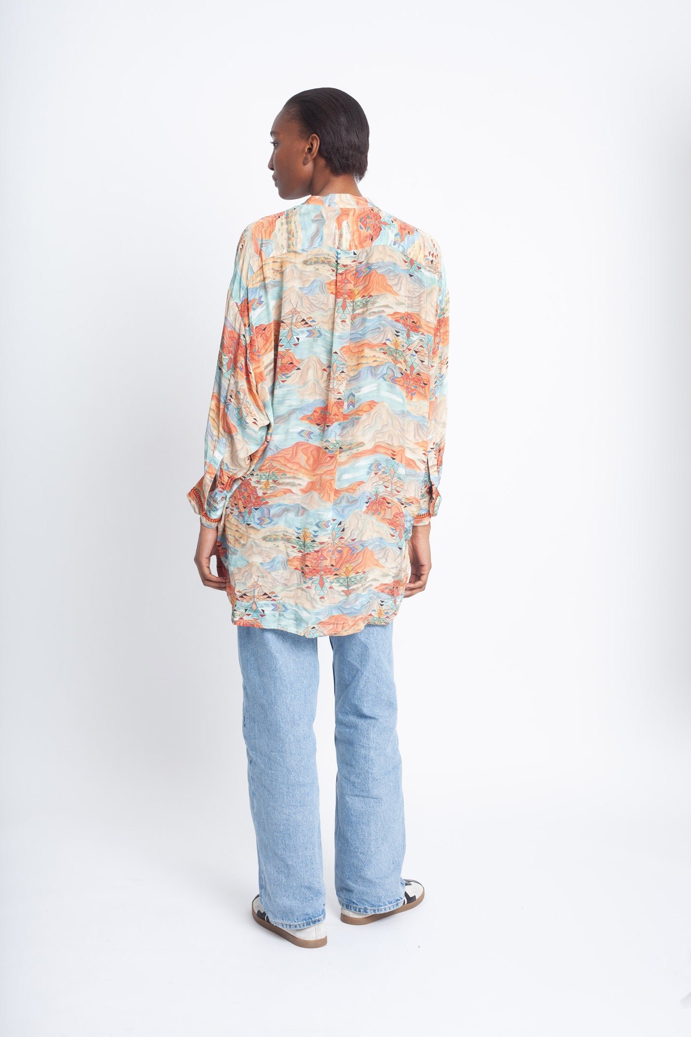 Embroidered Amaru Blouse