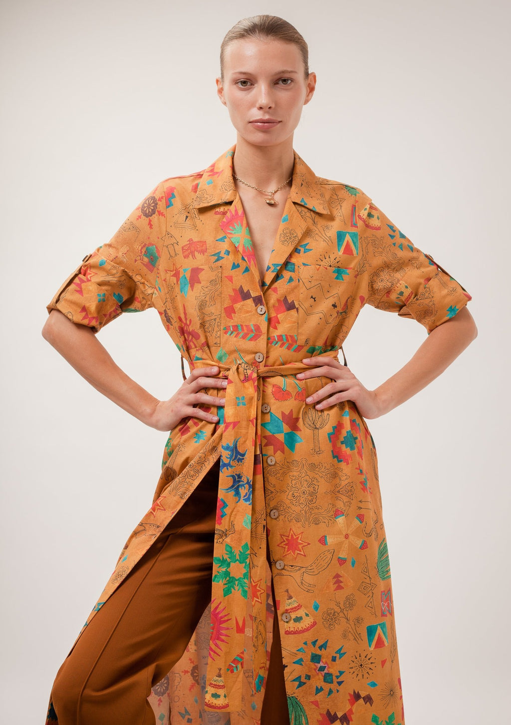 Arya Shirt Dress
