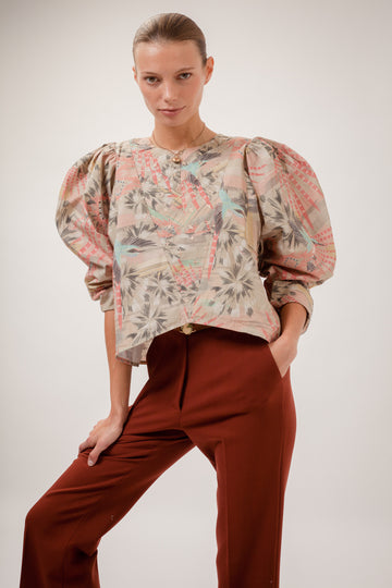 Nanuk Embroidered Cotton Blouse