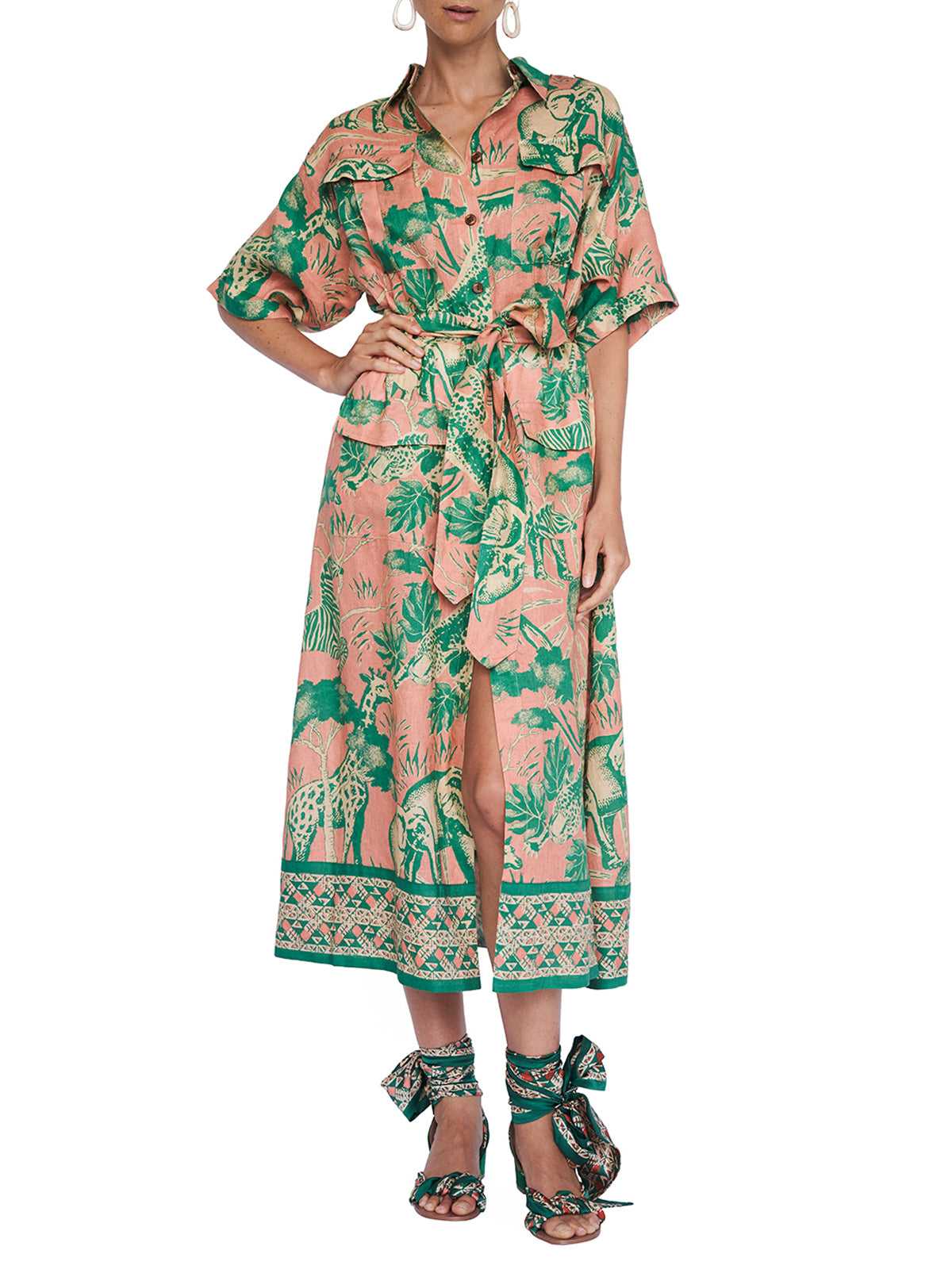 Desta Safari Dress
