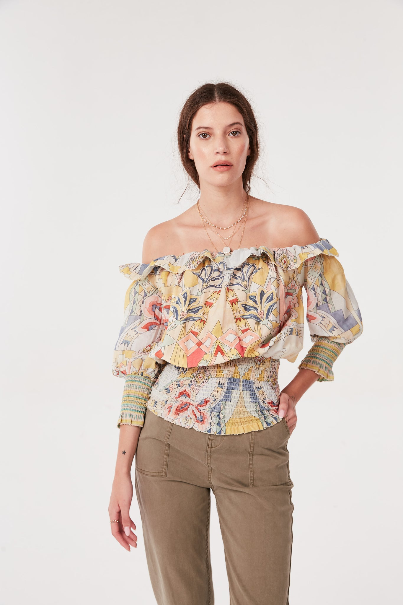 Cotton Silk Kuka Top