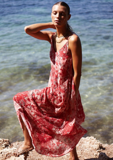 Embroidered Paracas Dress