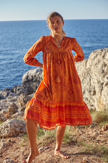Cotton Silk Arequipa Tunic