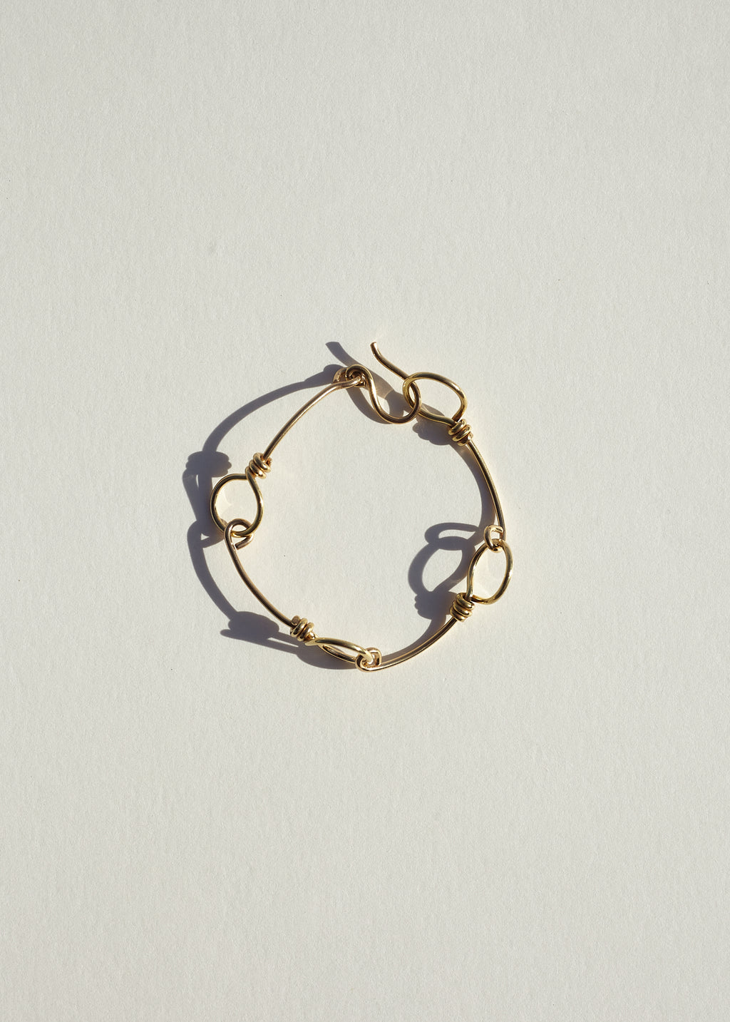 18K Gold Plated 'Love' Bracelet