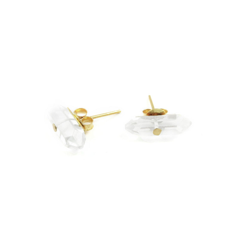 Talisman Energy Earrings 18k Gold
